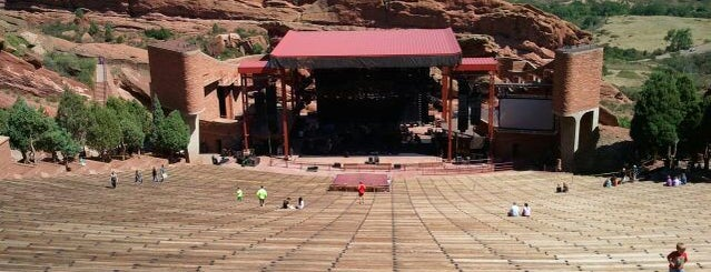 Red Rocks Park & Amphitheatre is one of SF Metromix's Top 25 Live Music Venues.