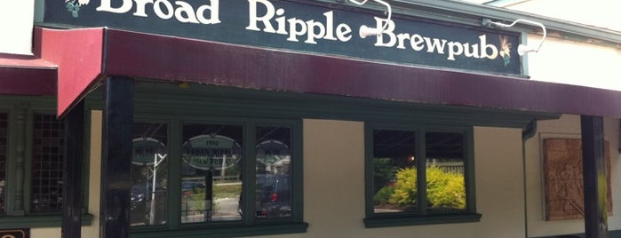 Broad Ripple Brew Pub is one of StorefrontSticker City Guides: Indianapolis.