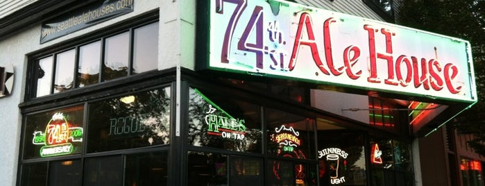 74th Street Ale House is one of Seattle Nightlife.