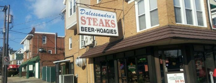 Dalessandro's Steaks and Hoagies is one of Places to go to.