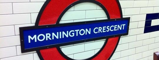 Mornington Crescent London Underground Station is one of Underground Stations in London.