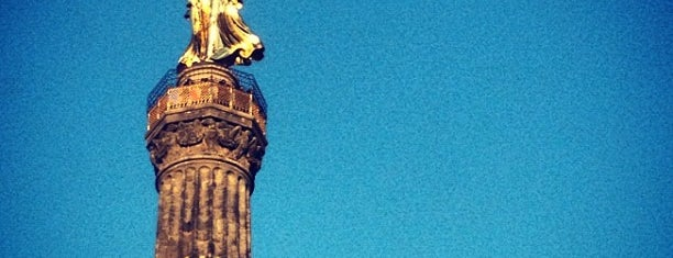 Colonne de la victoire is one of A few days in Berlin.
