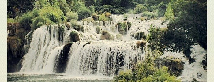Slapovi Krka is one of Cool Places to Visit.