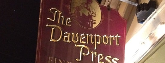 Davenport Press is one of Places to be visited.