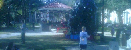 Plaza Gazebo is one of St Augustine Florida.