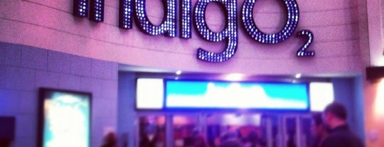 Indigo at The O2 is one of Greenwich and Docklands; London.