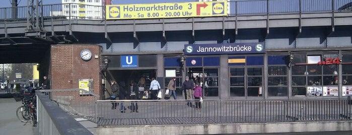 S+U Jannowitzbrücke is one of U & S Bahnen Berlin by. RayJay.