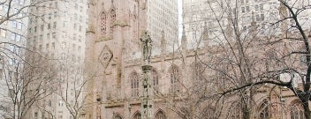 Trinity Church is one of IWalked NYC's Lower Manhattan (Self-guided Tour).