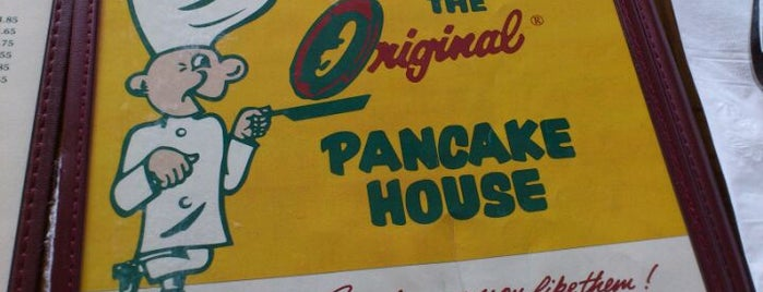 The Original Pancake House is one of Tempat yang Disukai Joey.