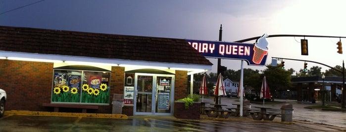 Dairy Queen is one of สถานที่ที่บันทึกไว้ของ Bill.