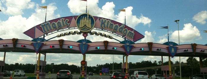 Magic Kingdom Toll Plaza is one of Walt Disney World.