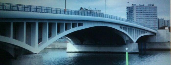 Pont de Bezons is one of j'ai été.