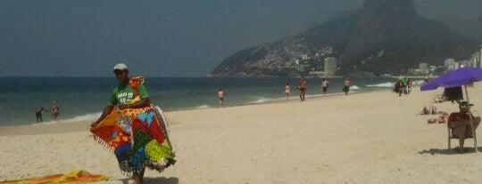 Praia de Ipanema is one of Rio de Janeiro's best places ever #4sqCities.