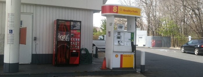 Shell is one of Gas Stations.