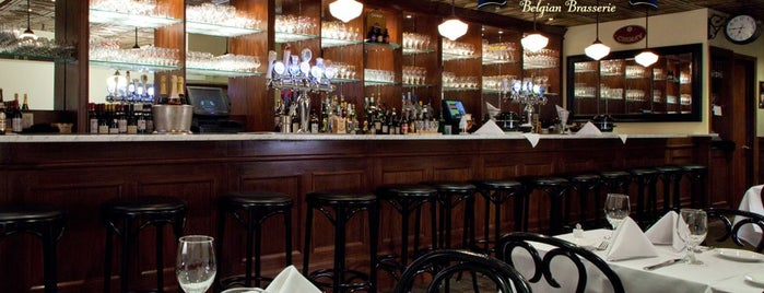 Brabant Belgian Brasserie is one of • taste of Belgium in the Big Apple.