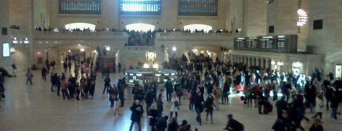 Grand Central Terminal is one of NYC to do.