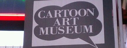 Cartoon Art Museum is one of San Francisco Museums & Art Galleries.