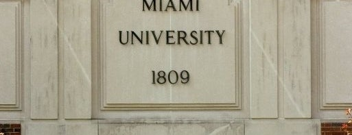 Miami University is one of Miami U.