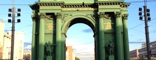 Narva Triumphal Arch is one of All Museums in S.Petersburg - Все музеи Петербурга.