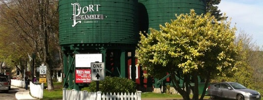Port Gamble, WA is one of Off-Grid Birthday.