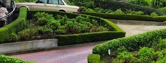 Lombard Street is one of US Landmarks.