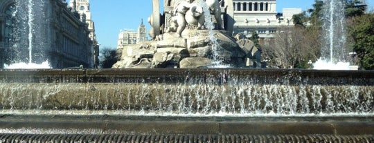 Fuente de La Cibeles is one of Best of Madrid.