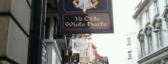 Ye Olde White Harte is one of UK.
