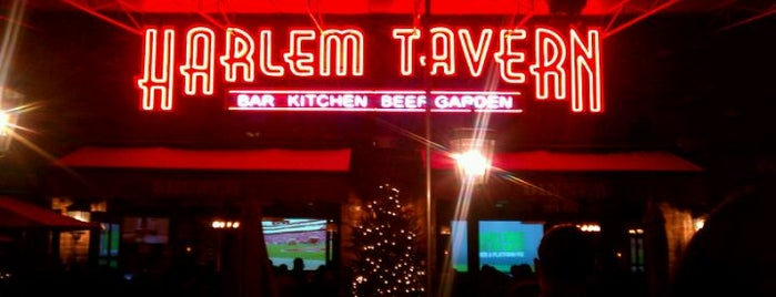 Harlem Tavern is one of Manhattan Eats.