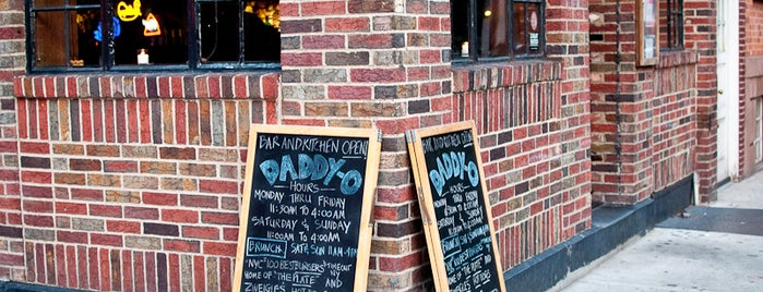 Daddy-O is one of Whisky Bars @ NYC & Boston.