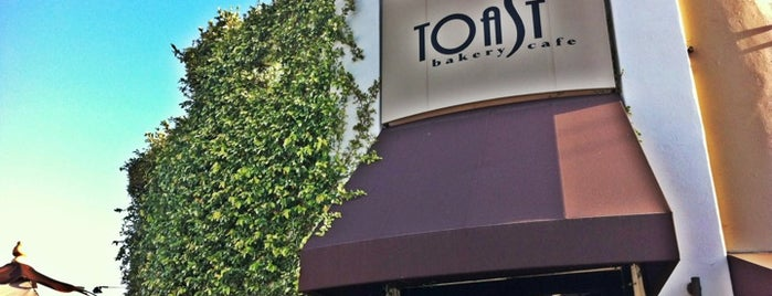 Toast Bakery & Café is one of LA spots.