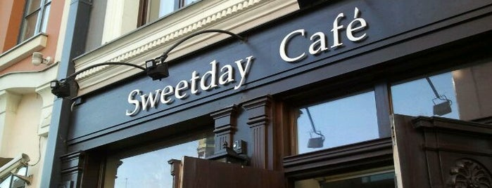 Sweetday Cafe is one of Coffee & cake.