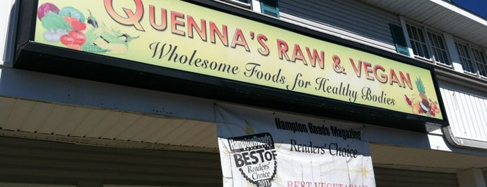 Quennas Raw & Vegan is one of Ed's Saved Places.