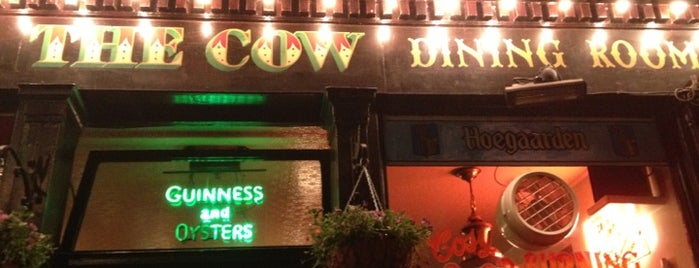 The Cow is one of London pubs.