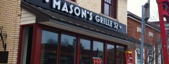 Mason's Grille 52 is one of Erin'in Beğendiği Mekanlar.