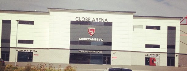Globe Arena is one of Carl 님이 좋아한 장소.