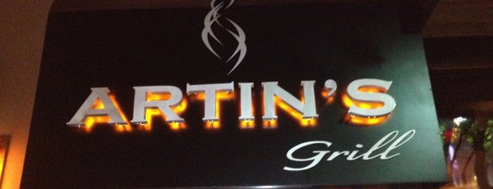 Artins Grill is one of Would go again.