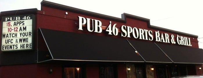 Pub 46 Sports Bar & Grill is one of Pubs-To-Do List.