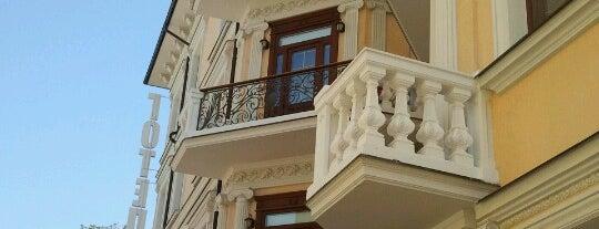 Готель «Клеопатра» / Kleopatra Hotel is one of Tempat yang Disimpan Sergey.