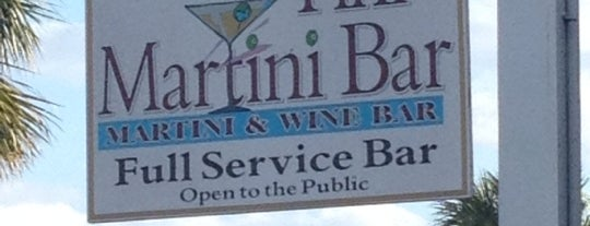The Tini Martini Bar is one of St Augustine Florida.