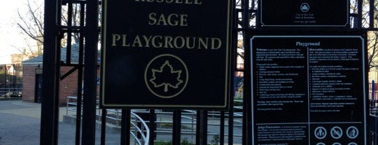Russell Sage Playground is one of Sashaさんのお気に入りスポット.