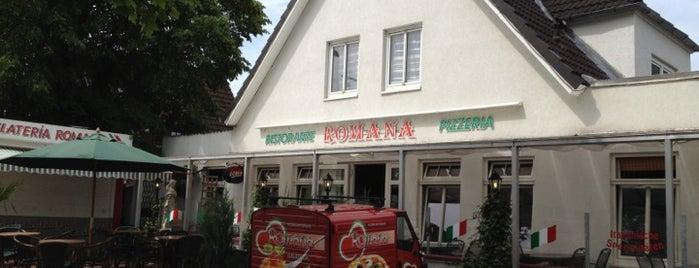 Pizzeria Romana is one of Mittag.