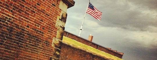 Fort McHenry National Monument and Historic Shrine is one of National Recreation Areas.