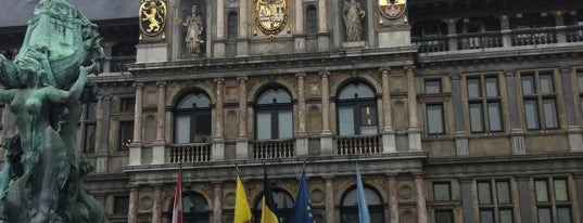 Grote Markt is one of Antwerpen does #4sqCities.