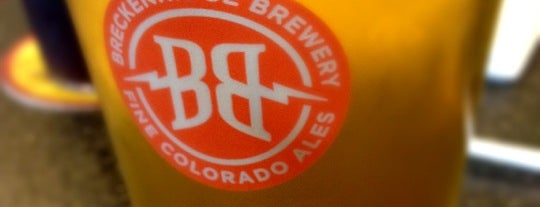 Breckenridge Brewery & BBQ is one of Drew's favorites.
