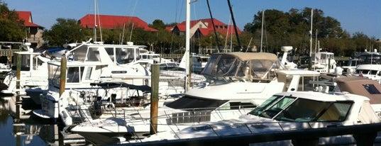 Shelter Cove Marina is one of Hilton Head & Savannah.