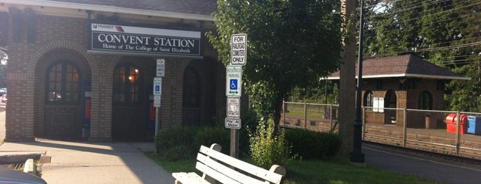 NJT - Convent Station (M&E) is one of New Jersey Transit Train Stations.