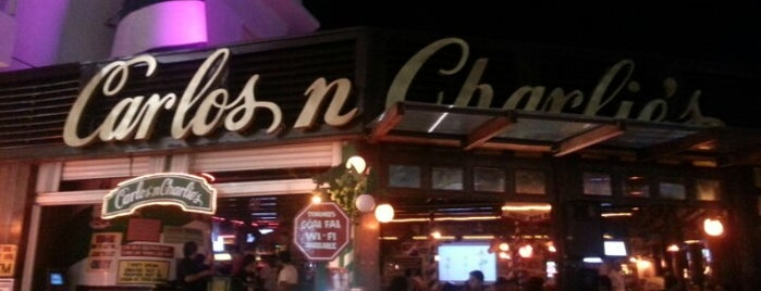 Carlos'n Charlie's is one of Cancun.