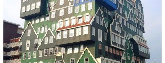 Inntel Hotels Amsterdam Zaandam is one of Crazy Places.