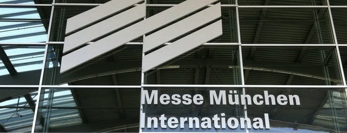Messe München International is one of I Love Munich!.
