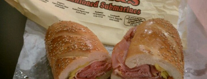 DiBella's Old Fashioned Submarines is one of Lugares guardados de Mike.